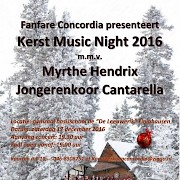 Kerst Music Night